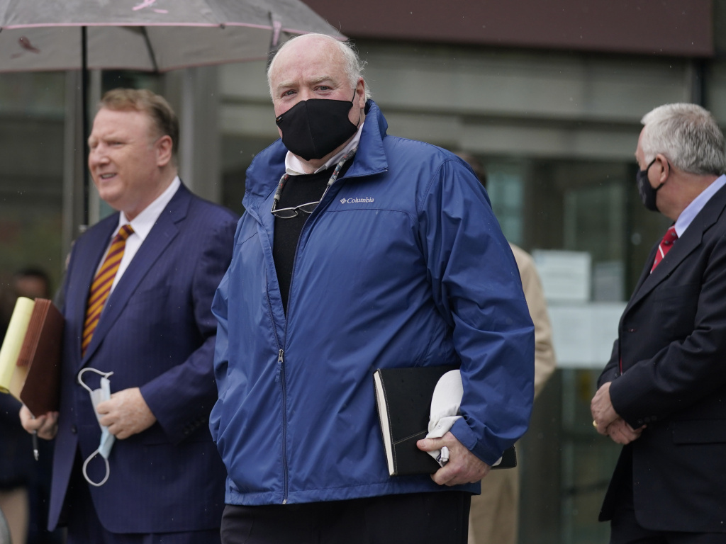 A Connecticut prosecutor says the Kennedy cousin Michael Skakel, shown here, will not face a second trial in the 1975 murder of teenager Martha Moxley in Greenwich.