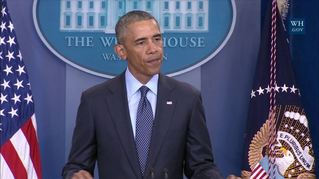Obama reacts to the shooting in Orlando that left 50 dead at a nightclub on June 12, 2016.