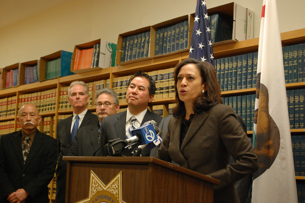 Attorney General Kamala Harris helped to broker the settlement