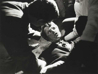 Robert F. Kennedy was shot after midnight on June 5, 1968 in Los Angeles, California.