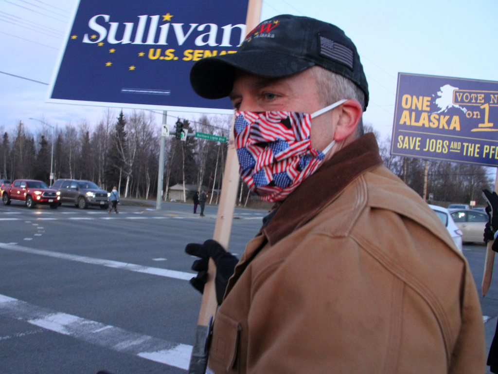 Sen. Dan Sullivan, R-Alaska, won reelection, giving Republicans control of 50 seats in the Senate with two races still outstanding.