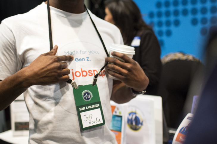 Jeff Boodie is the founder and CEO of JobSnap, an app that's been called the Tinder of jobs.