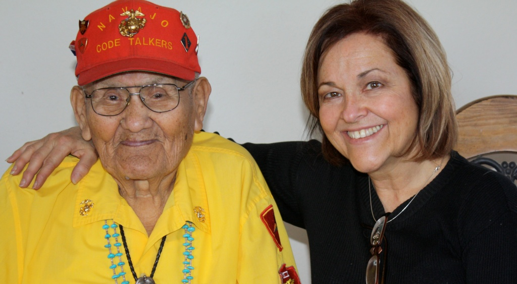 The last original Navajo Code Talker Chester Nez and Judith Avila wrote the book