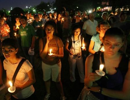 Hurricane Katrina Candelight Vigil