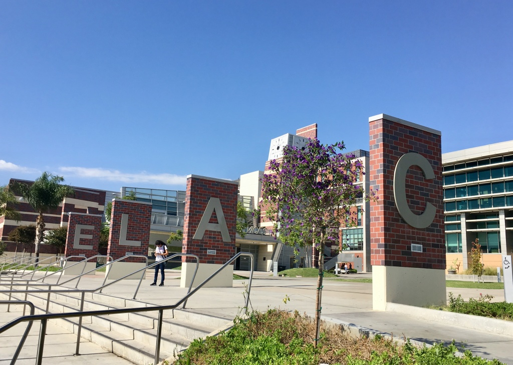 East Los Angeles College is one of nine campuses in the L.A. Community College District.