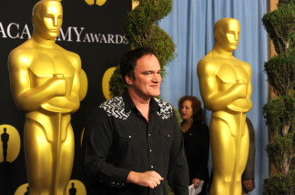 Director Quentin Tarantino poses at the 82nd annual Academy Awards Nominee Luncheon at Beverly Hilton Hotel on February 15, 2010 in Los Angeles, California.
