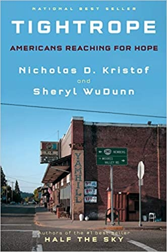 """""""Tightrope: Americans Reaching for Hope"""" (Knopf; 2020)"""