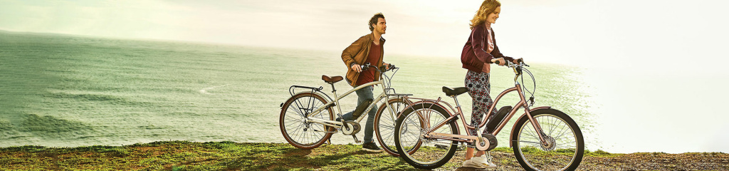 Southern California bicycle company, Electra, now offers certain models of its beach cruisers with electric motors.