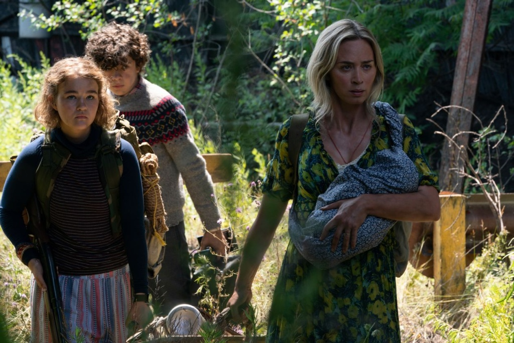 """Millicent Simmonds, Noah Jupe and Emily Blunt return in """"A Quiet Place, Part II."""""""