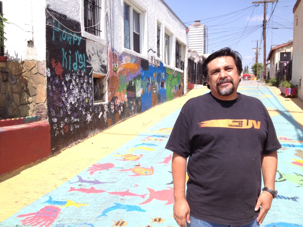 Boyle Heights resident Leonardo Vilchis, of Union de Vecinos, says the next mayor can have a lot of influence on toxic pollution in his neighborhood.