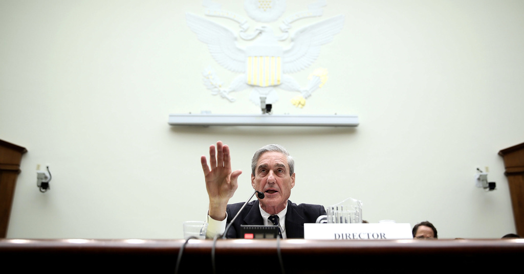 Robert Mueller as FBI director in 2013.