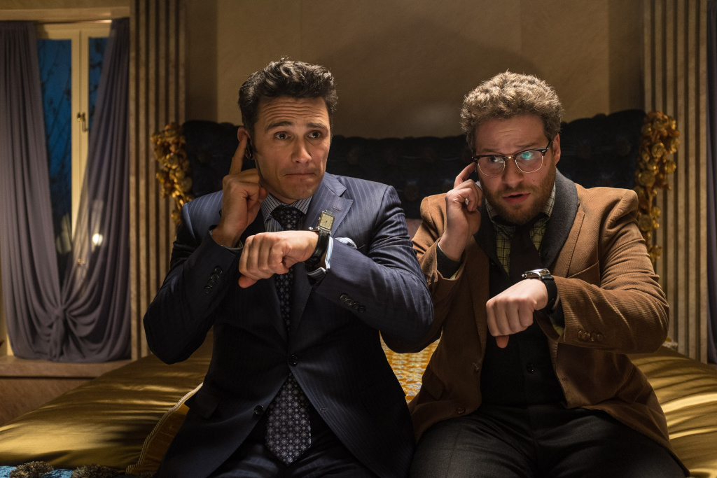 Dave (James Franco) and Aaron (Seth Rogen) in Columbia Pictures'