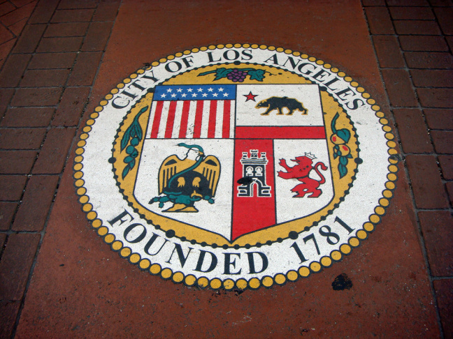los angeles city hall seal