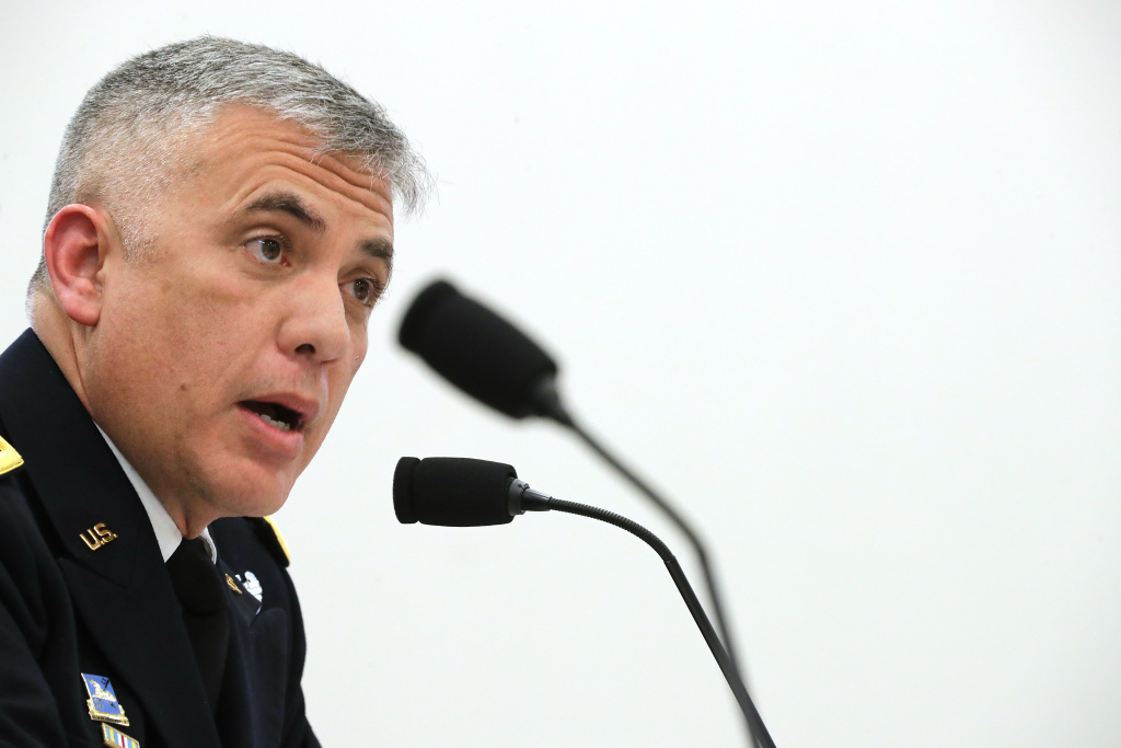 Gen. Paul Nakasone, the National Security Agency director, told NPR ahead of the 2020 elections that the U.S. was