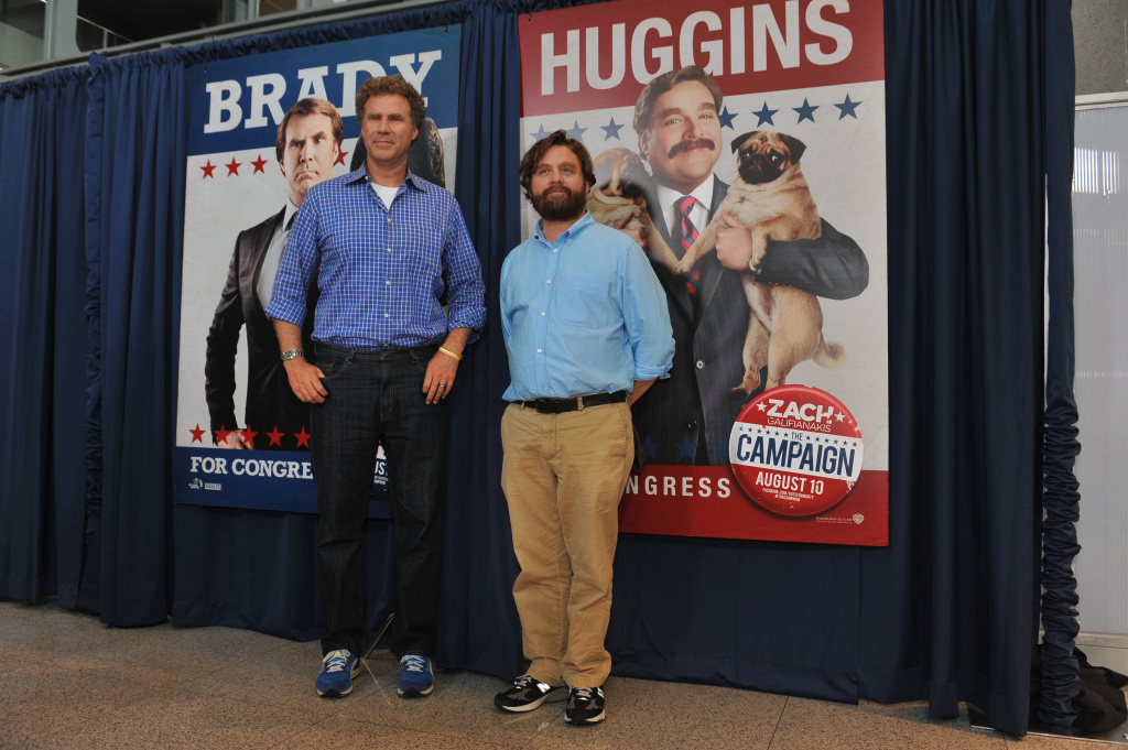 Will Ferrell and Zach Galifianakis attend