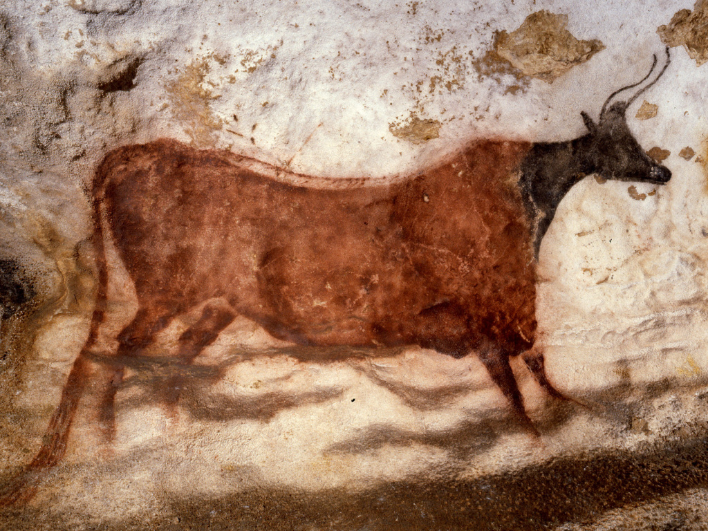 A cave painting from Lascaux, France