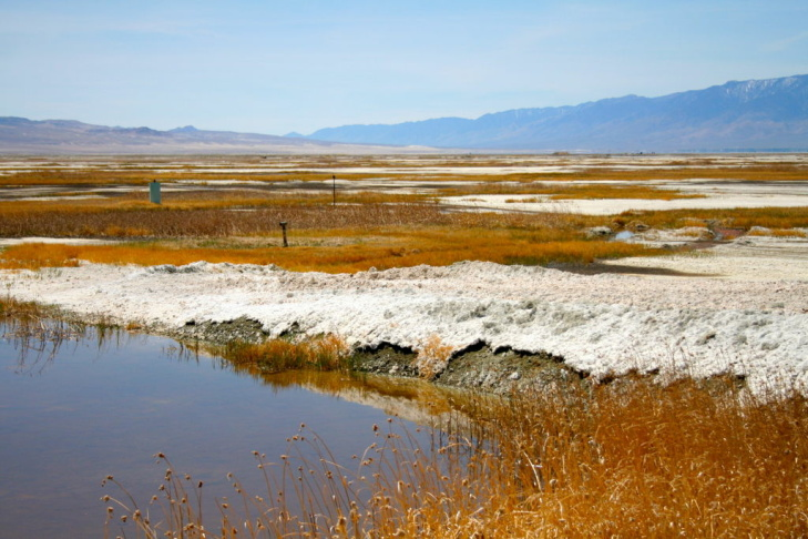 LADWP's Marty Adams says he calls one parcel of the Owens Dry Lake