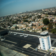 Hawthorne Airport Aerial Los Angeles Traffic Control Spending Aviation Cuts Sequester