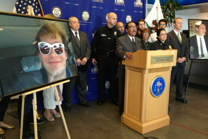 Samuel Michel, 25, was found stabbed to death in his Koreatown apartment on S. Serrano Street on April 10th, 2012. A $50,000 reward is offered for information leading to the arrest and conviction of his murderer.