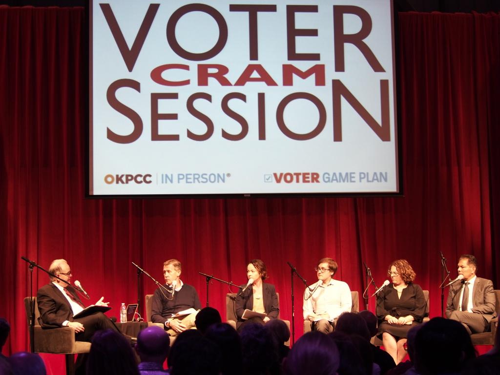 Voter cram session October 17, 2018