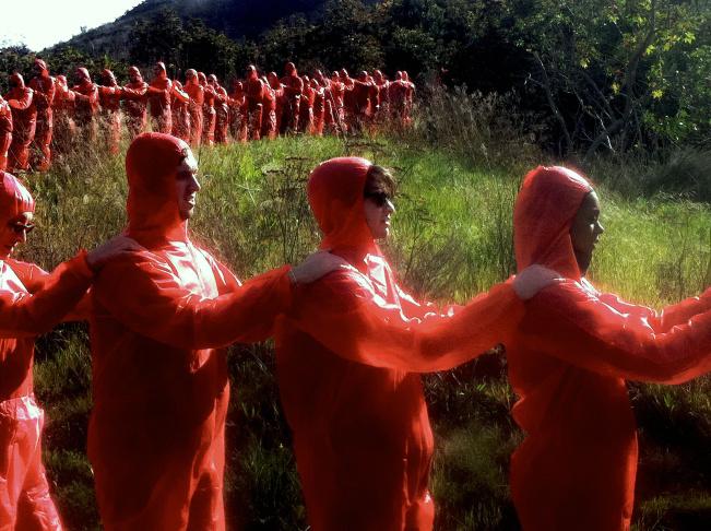 Jan 22, 2012: Pacific Standard Time public art piece,