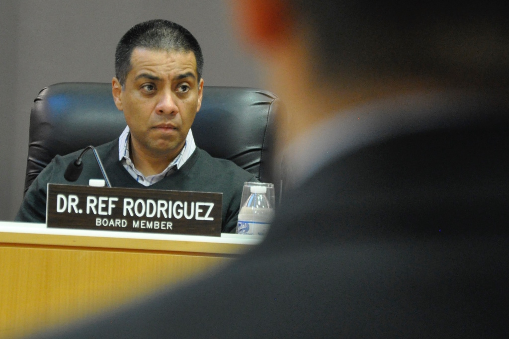 L.A. Unified School Board member Refugio