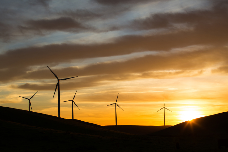 California's plan to shift for a clean economy requires electricity providers to get 33 percent of their energy from renewable source, such as wind farms and solar arrays by 2020.