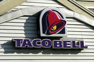File photo: A Taco Bell sign is shown at the Taco Bell in New Rochelle, New York 07 December, 2006.