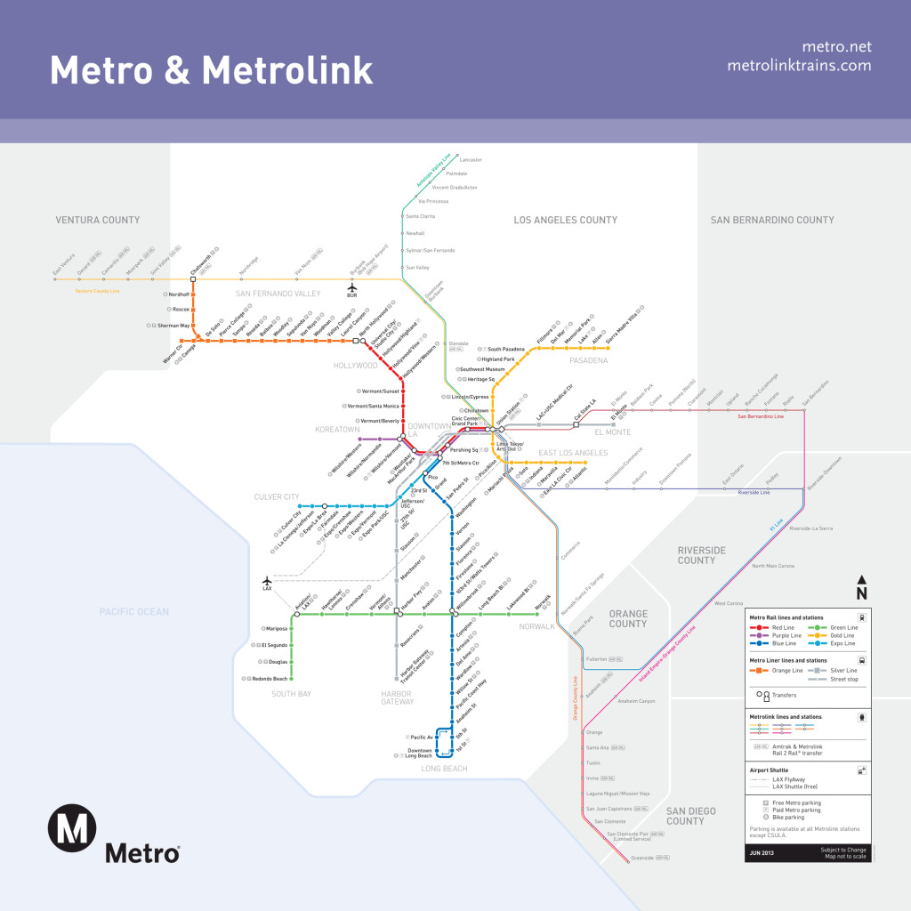 Map A Potential 2040 Los Angeles Metro Subway System Map