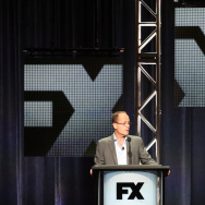 John Landgraf, CEO of FX Networks and FX Production speaks onstage during the Executive Session at the FX portion of the 2015 Summer TCA Tour at The Beverly Hilton Hotel on August 7, 2015 in Beverly Hills, California.