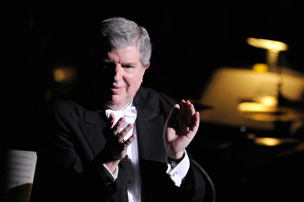 Marvin Hamilsch performs on stage at the 2009 New York Philharmonic Spring Gala at Avery Fisher Hall on April 20, 2009 in New York City.