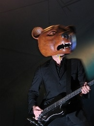 Teddybears take an unconventional approach to pop music... as well as to headgear.
