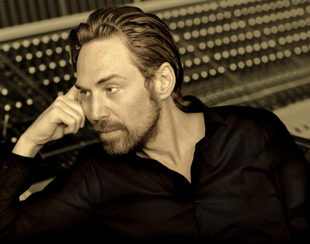 LA-based British music producer Rupert Parkes (aka Photek).