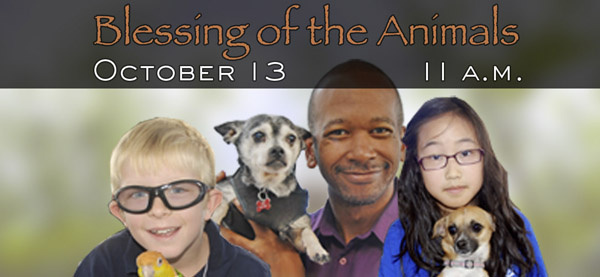First Congregational Church of Los Angeles- Blessing of the Animals