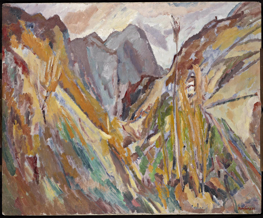David Bomberg (1890 - 1957), The Slopes of Navao, Picos de Europa, 1935, oil on canvas.