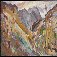 Bomberg Mountains at The Huntington