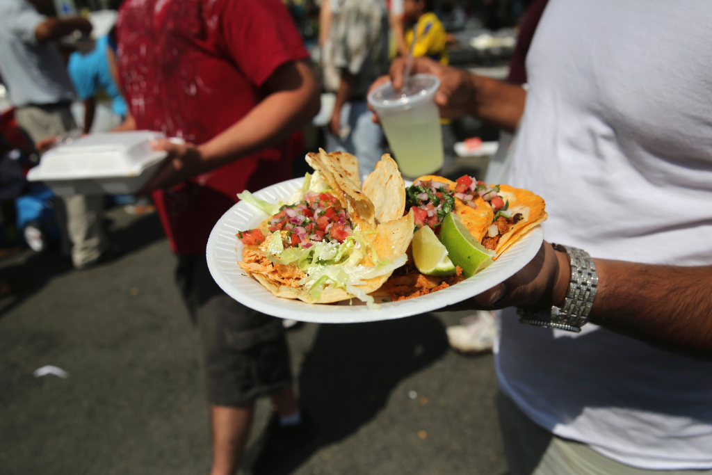 More than 30 food vendors will descend on Grand Park for the LA Taco Festival this weekend.