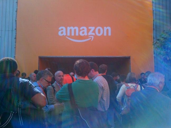 We prepare to enter the Amazondome.