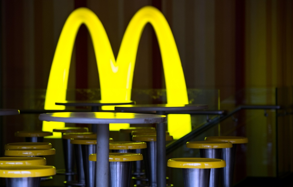 While some fast food chains are reporting increased sales, McDonald's said Tuesday a key sales figure declined 3.3 percent in the U.S., marking the fourth straight quarter of declines for the world's biggest hamburger chain.