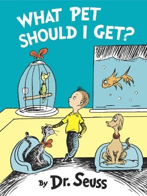 The cover to new posthumous Dr. Seuss book