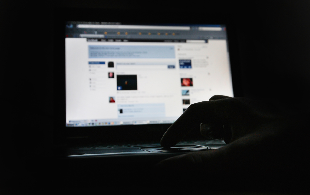 In this photo illustration the Social networking site Facebook is displayed on a laptop screen on March 25, 2009 in London, England.