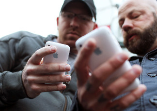 Apple says it sold 37 million iPhones in the first quarter of 2012.