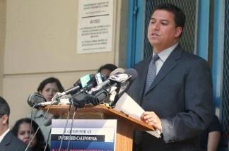 Incumbent Jose Huizar is facing stiff competition from challenger Rudy Martinez.