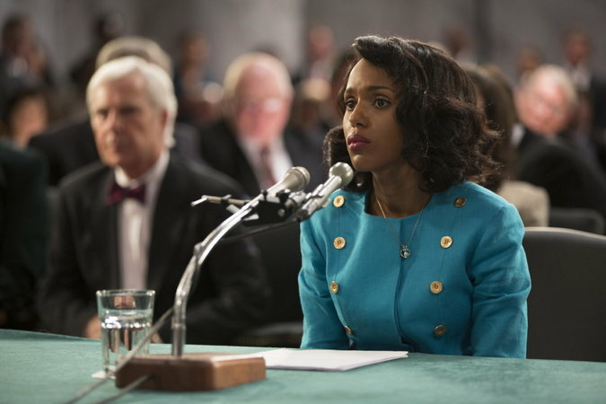 "Kerry Washington plays Anita Hill in HBO's ""Confirmation."" Credit Frank Masi/HBO"