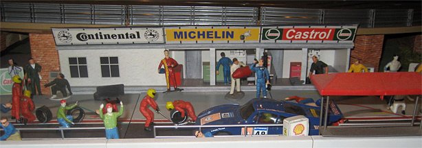 In the garage behind his home in Glendale, Steven Farr-Jones built the Slot Car race track of his childhood dreams.