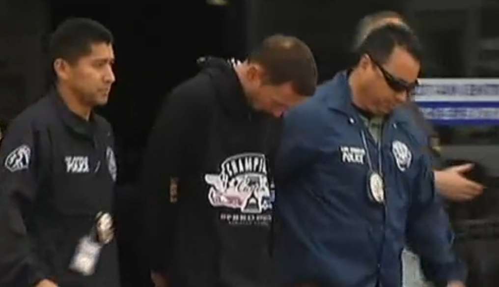 Northridge kidnapping suspect Tobias Summers in custody.