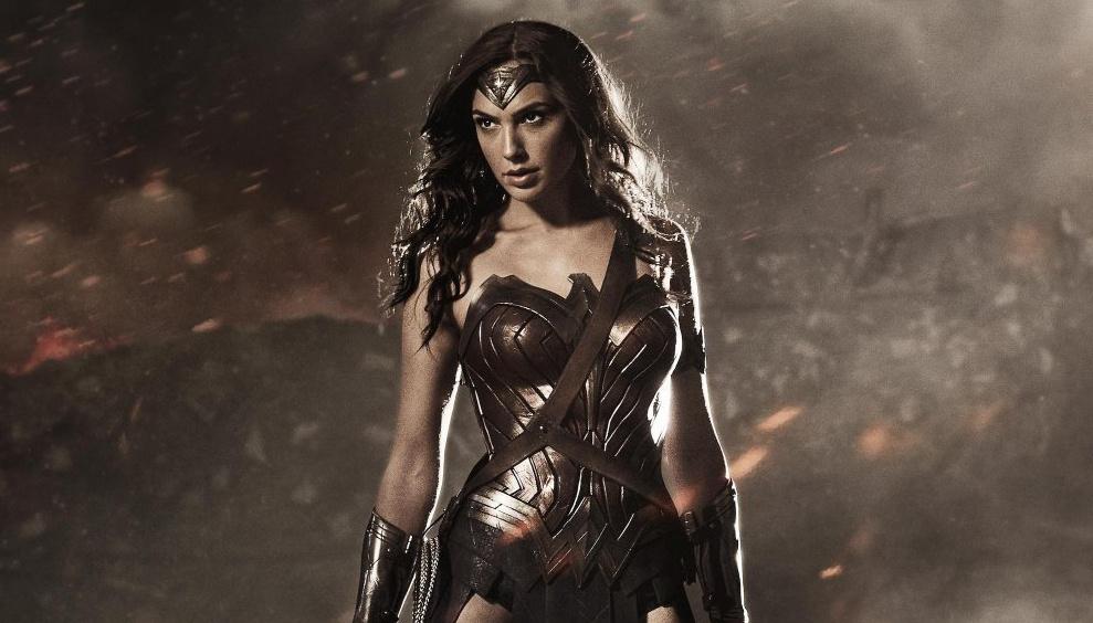 Actress Gal Gadot as Wonder Woman.