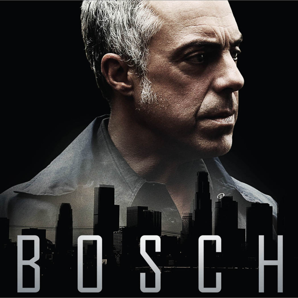 Title art for the new Amazon Prime series, Bosch.