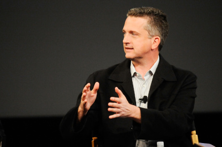 "Bill Simmons speaks at the panel and screening of ""Beyond Playing The Field"" during the 2010 Tribeca Film Festival at the School of Visual Arts Theater on April 24, 2010 in New York City."