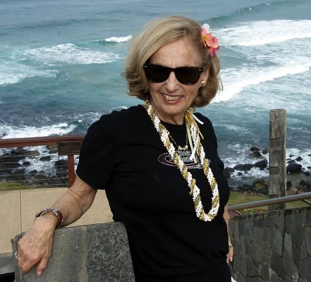 Kathy Kohner-Zukerman, the real Gidget in 2010.